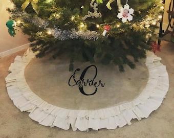popular items for christmas tree skirt - Christmas Tree Skirts Etsy