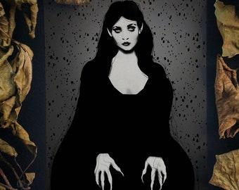 "Art print (A5/A4) - ""Nosferata"" 8x6""/8.3 x 11.7"" Nosferatu Count Orlok inspired Dark Fantasy print"