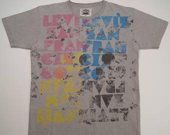 Vintage LEVIS Style Men's T-shirt Size XL