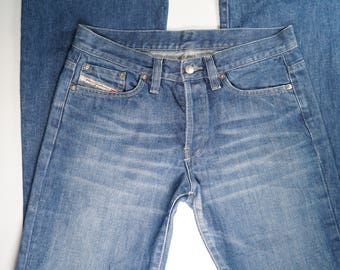 78895869e0b0a DIESEL Denim Lady s Jeans Made in Italy Authentic Quality Brand Size 28