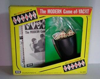Vintage KISMET The Modern Game of Yacht 1964 - Nice!
