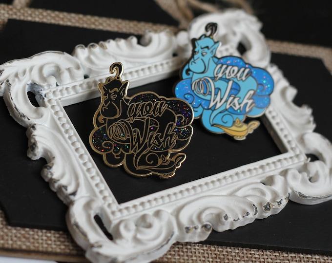 Featured listing image: You Wish Genie Hard Enamel Pin