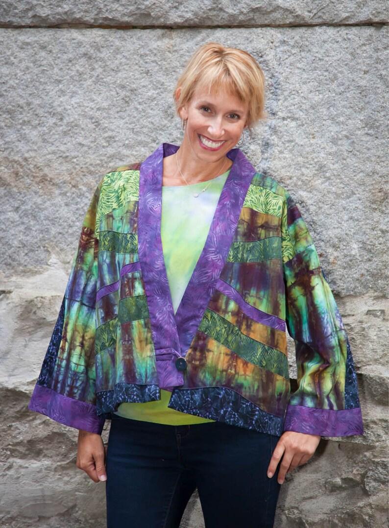 Kimono-Style Jacket image 0