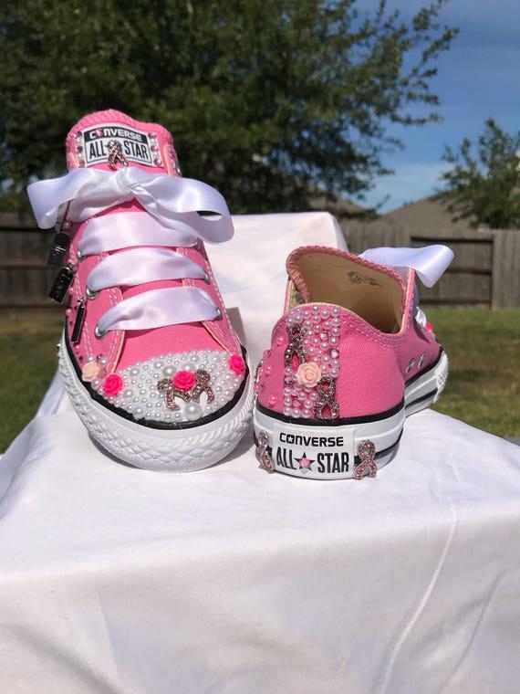 Breast Cancer Awareness Custom Bling