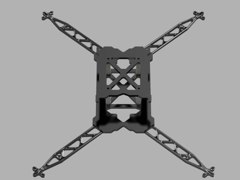 Custom Made Aluminiun Ergal Drone Frame Quadcopter