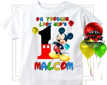 7902717e 50% Off Mickey Mouse Clubhouse Birthday Shirt, Personalized Shirt, (mc456)