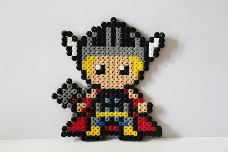 Thor Perles Hama Pixel Art Etsy