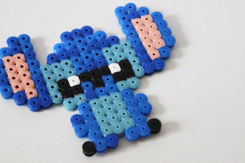 Stitch En Perles Hama Pixel Art Etsy