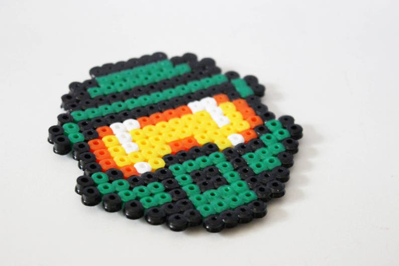 Master Chief Halo Perles Hama Pixel Art Etsy
