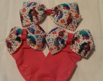 Hair bow and socks set