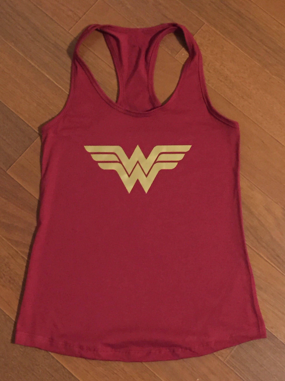 6bd6558c42220 Wonder Woman workout tank top