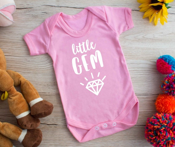 Baby Princess Funny Baby Vest Grow Bodysuit Personalised Baby gift
