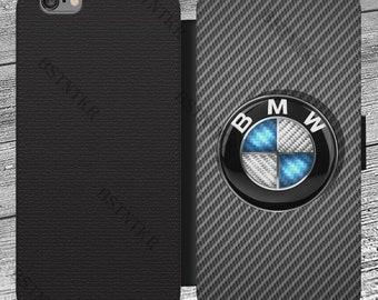 BMW iPhone 4 4s 5 5s 5c SE 6 6s 6 6s Plus 7 7 Plus X Samsung Galaxy S7 S8  S9 + Huawei P10 P20 Lite Mate 10 20 flip wallet case hülle 9788655ed