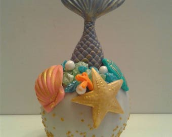 under the sea mermaid candy apples