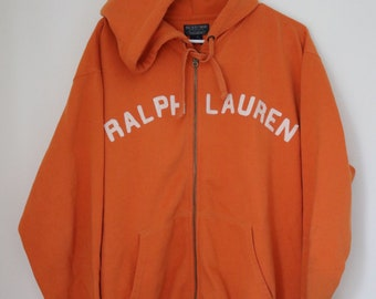 Ralph Lauren Spell out Hood Zip