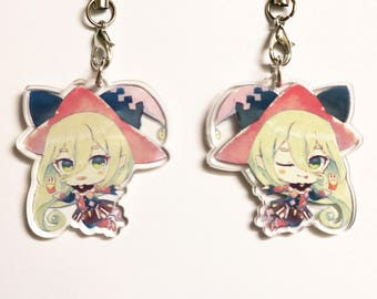 """Magilou (Tales of Berseria) 1.5"""" Double-Sided Acrylic Charm"""