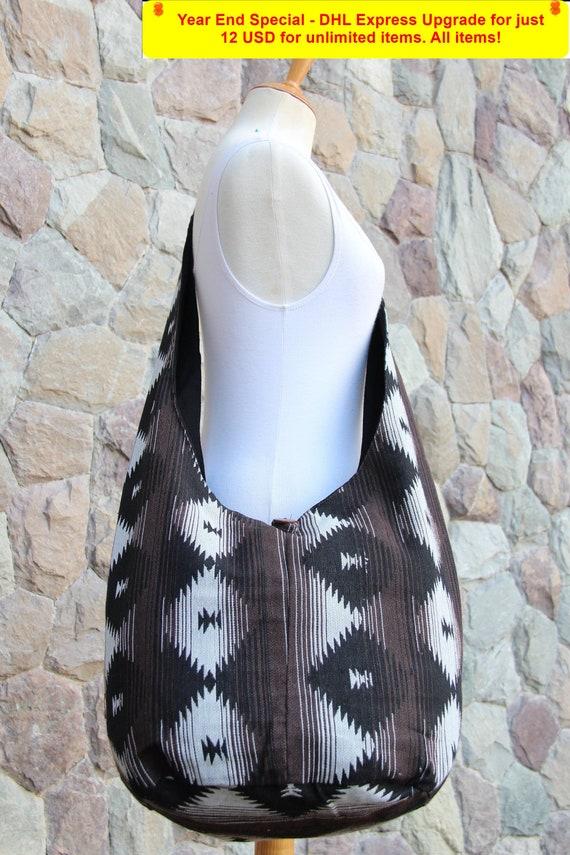 WAY.MAY Donuts Pattern/ã/€/‹ Leather Tote Bags Zippered Handbags Shoulder Bag