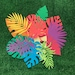 Verity reviewed Tropical paper leaves + palms - medium 12 pack