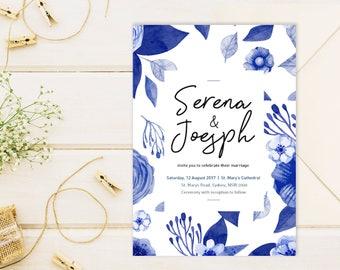 Wedding Invitation | Printable Wedding invitation | Wedding Suites | RSVP | Custom, Personalised Wedding Stationery | Rose Wedding suite
