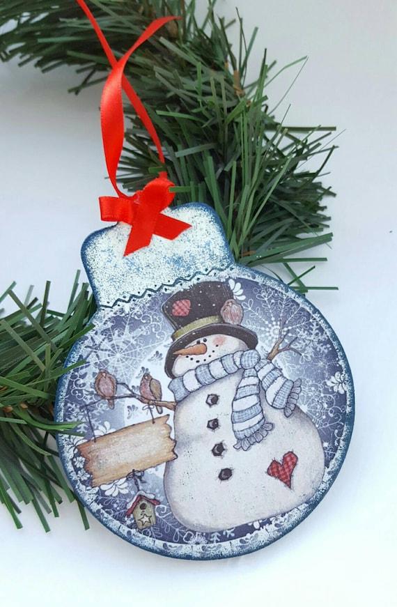 Weihnachtsbaum Schneemann Spielzeug Weihnachtsbaum Etsy