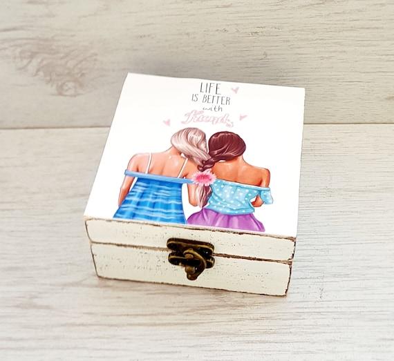Birthday Gift For Best Friend Female Friendship Jewelry Box