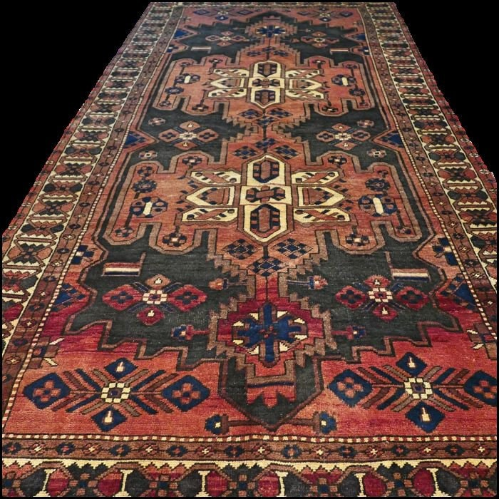 Antique Large Rug: FREE SHIPPING Vintage Carpet Large Rug Vintage Boho