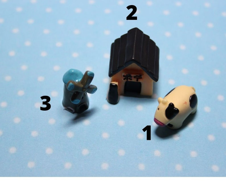 Silicone 3D-molds for miniature pets of different shapes and sizes Forms for polymer clay and plastic.