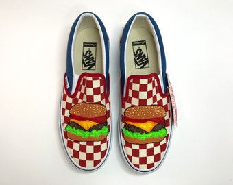 Classic burger shop shoes