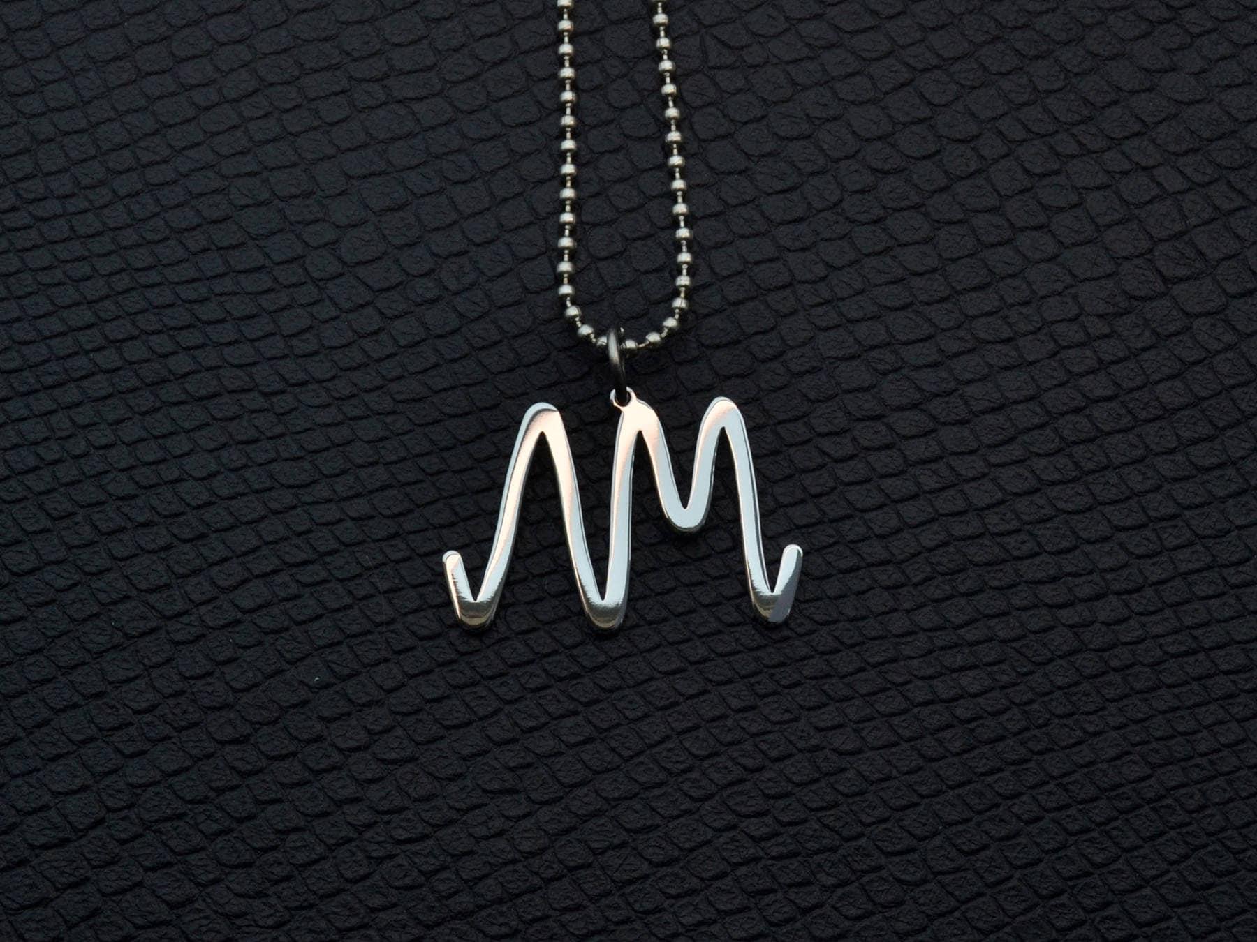 Arctic Monkeys Pendant Stainless Steel Rock Jewelry Arctic Etsy