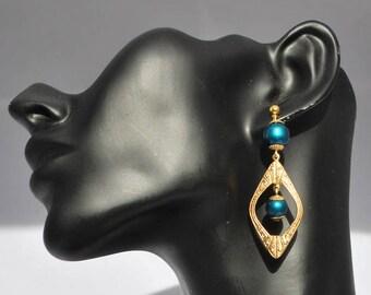 """Earrings ear """"ART Deco""""."""
