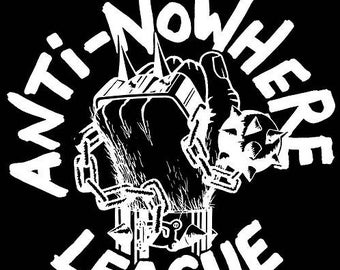 ANTI-NOWHERE LEAGUE PUNK ROCK HEAVY METAL MUSIC SEW IRON ON PATCH: