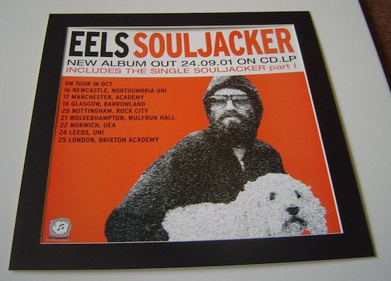 Eels Souljacker Original Poster In A Custom Made Mount Ready Etsy