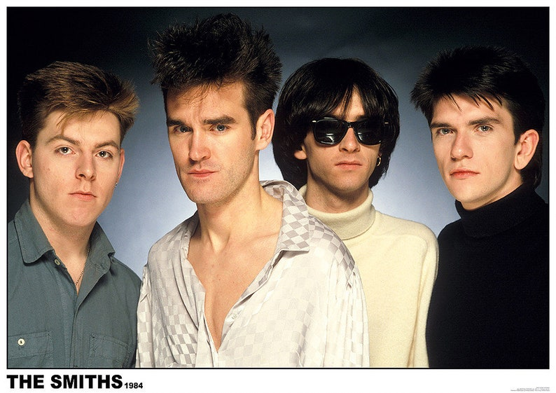 74206f6193d9 The Smiths Morrissey Group Posed Full Colour 1984 33 x 23