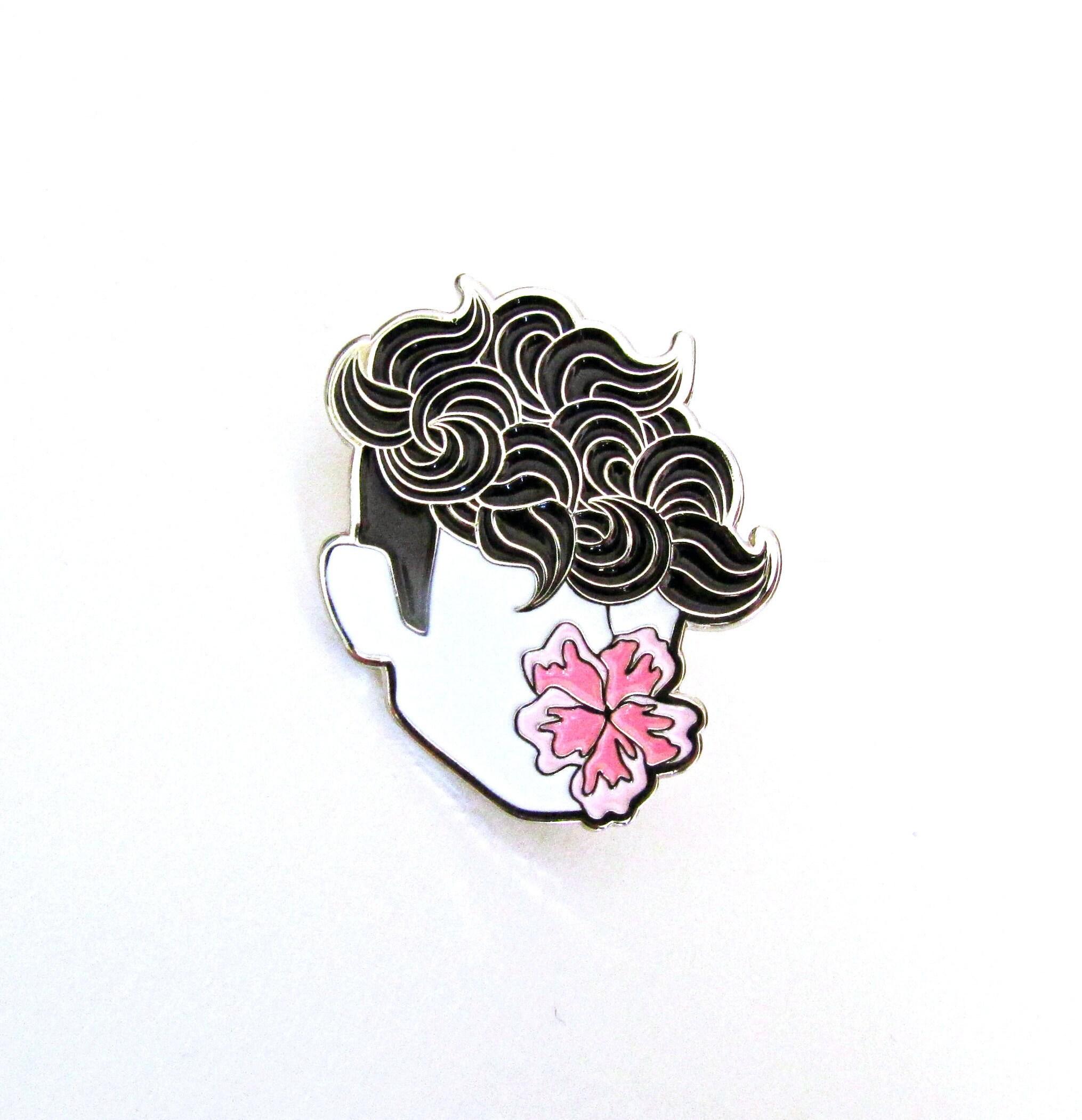FLOWER BOY Soft Enamel Pin tommyboydesign cool enamel ...