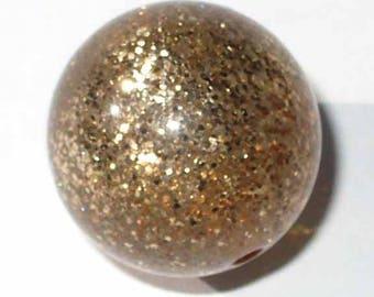 2 polaris paipolas Golden sequins 20mm beads