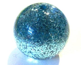 2 polaris indicolite turquoise sequins 20mm beads