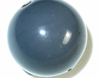 1 round Pearl Grey 16mm AR235 grey