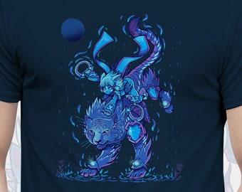 0c578c43 Tiger Driver - Xenoblade Chronicles T-Shirt // Nia and Dromarch Driver and  Blade // JRPG Shirt Gaming Shirt // Character Video Game T-Shirt