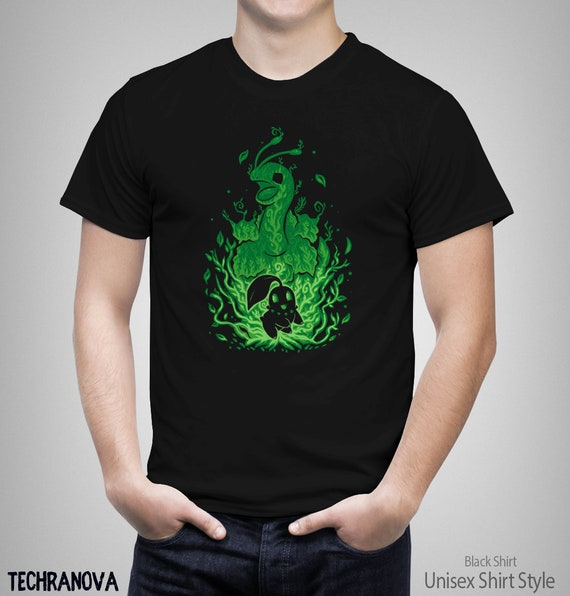 ccbac969 The Grass Flower Within The Grass Evolves Meganium T-Shirt | Etsy