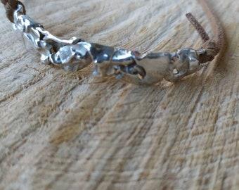 925 thousandth silver bracelet, men's silver bracelet, women's silver bracelet. HANDMADE