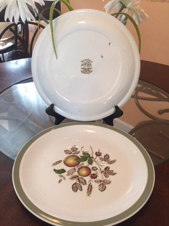 Alfred Meakin dinner plates, very rare