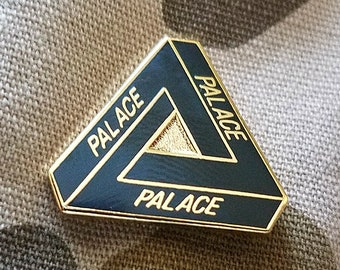 Palace .75 INCH Skateboard tri Pin Patch