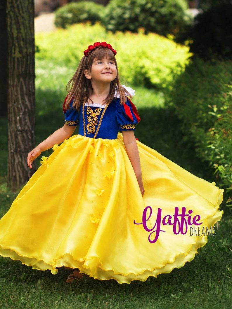 f2839276e2c1 Biancaneve dress costume di Halloween vestito Disney Princess