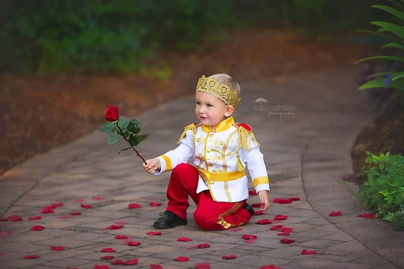 ed65f26f4d2a2 Costume de Prince charmant roi tenue Disney Cendrillon