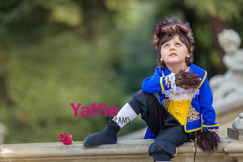 Halloween Film Die Schöne und das Biest Prinz Adam Cosplay Kostüm Anzug Full Set
