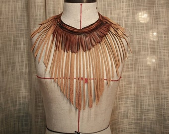 Desert Queen Leather Necklace