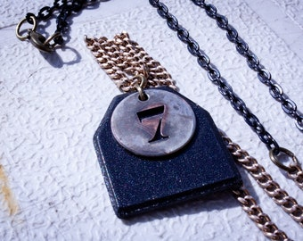 Motel Room Number Necklaces - Multiple Options