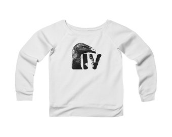Iron Vulture Women's Wide Neck Sweatshirt