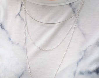 CASCADE Layered Necklace