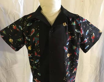 1950's Retro Bowling Shirt size 3T/4T